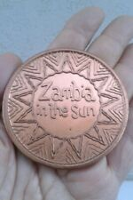 ZAMBIA IN THE SUN MEDAL 1970