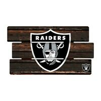 Oakland Raiders Defense Holzschild XL  63 cm ! !,NFL Football,Fence Sign