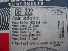 DATSUN NISSAN bluebird cherry stanza sunny laurel prairie front disc brake pads