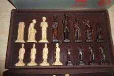 Studio Anne Carlton Sherlock Holmes Chess Set in Excellent Condition.
