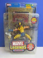 Rara Sellada Figura De Acción Marvel Legends Wolverine Serie III 3 X-men Toybiz 86r