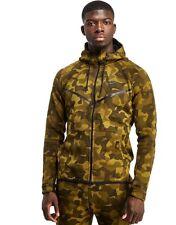 Nike Tech Camo Fleece Full Zip Windrunner Hoodie Ltd Edition Casual Gym - Medium