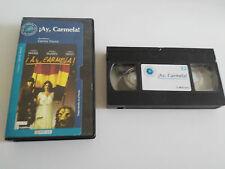 ¡AY CARMELA! VHS COLECCIONISTA EDICION ESPAÑOLA CARMEN MAURA