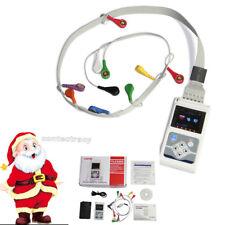 12 Channels CONTEC TLC5000 ECG Holter,ECG /EKG Monitoring System,Dynamic ECG,FDA