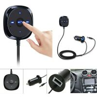 Bluetooth Receiver BT to 3.5mm AUX Audio Stereo Music Car Adapter USB Charger