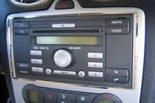 D Ford Focus MK2 Chrom Rahmen für Radio - Edelstahl poliert  Focus MK 2