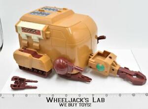 Wood Beetle Transport Battle Beasts Action Figure Vehicle Vintage 1987