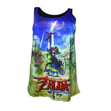 Official Nintendo Legend Of Zelda Skyward Sword Link Sublimation Tank Vest Top