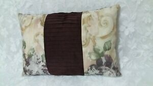 """Croscill Chambord Pillow Cover With Pleats 19"""" X 13"""" Oblong"""