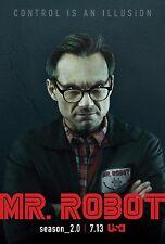 Mr. Robot Season 2 TV Poster (24x36) - Rami Malek, Christian Slater f society v3