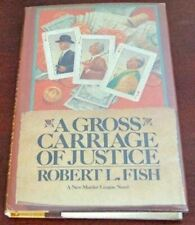 A Gross Miscarriage of Justice [Hardcover] Fish, Robert