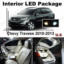 White LED Lights Interior Package Kit for Chevy Travese 2010-2013 ( 14 Pcs )