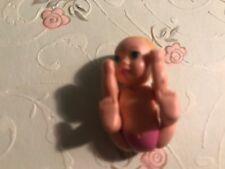 MATTEL BARBIE HAPPY FAMILY PREGNANT MIDGE BABY GIRL PINK DIAPER FITS BELLY BUMP