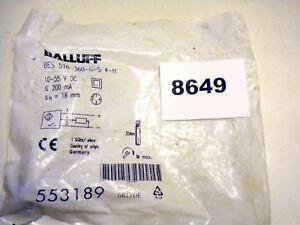 (8649) Balluff Proximity Switch BES 516-360-G-S 4-H