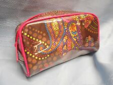 BARE ESCENTUALS MINERALS COSMETIC MAKE UP ZIPPER BAG CASE PASLEY `NEW`