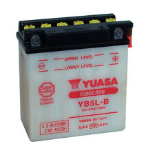 Batterie Yuasa moto YB5L-B 12V 5.3ah 60A type YAMAHA XV125, S Virago 99