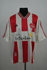 Nuremberg jersey maillot leotard home 1998 1999 adidas vintage nurnberg germany