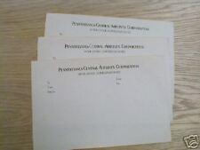 PCA PENNSYLVANIA CENTRAL INTEROFFICE MEMO PAPER   136 *