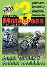 Motocross Techniques, Skills, How To Series DVD #3 from Volume 3 by Gary Semics