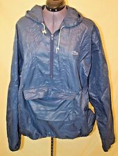 Men's Vintage LACOSTE IZOD Pull Over Rain Poncho Jacket Size XL