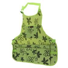Green Super Shop Apron Machinist Pockets Tools Woodwork Garden Aprons 65cm