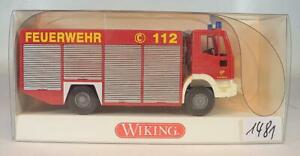 Wiking 1/87 No.623 02 31 Iveco EuroFire RW2 Feuerwehr OVP #1481