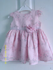 George Polyester Floral Dresses (0-24 Months) for Girls