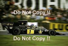 Ronnie Peterson JPS Lotus 72 E British Grand Prix 1974 Photograph 2