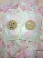 Glassine Bags Throw Me Stickers Pink /& White Biodegradable Confetti Hearts Eco