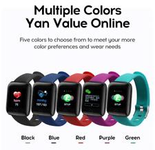 Reloj inteligente Smartwatch mujeres Para hombres impermeable Monitor de frecuencia cardíaca Fitness