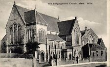 Mere. The Congregational Church by F.Holmes, Mere.