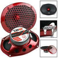 "2 Pack DS18 6x9"" Midrange Loudspeakers 550 Watts Max 8 Ohm Car Audio PRO-X698BM"
