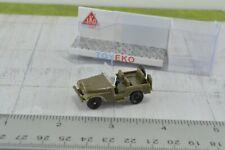 Eko Jeep Willys Military Green 1:86 HO Scale