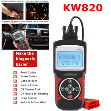 Universal Scanner Full OBD2 Auto Car Diagnostics Engine Fault Code Reader KW820
