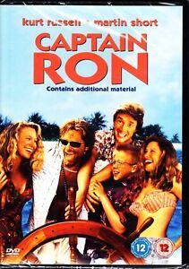 CAPTAIN RON (1992) KURT RUSSELL MARTIN SHORT DVD Region 4 (AUS) New & Sealed