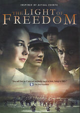 THE LIGHT OF FREEDOM - Inspired by Actual Events - DVD  **BRAND NEW**