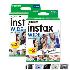 Fujifilm Instax Wide Film for Fuji 210 200 300 instant cameras (2x20=40 Photos)