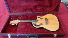 More details for rare us-made ovation acoustic/ electric pro mandolin with hard case - vgc