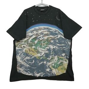 Rare Vintage 1993 Liquid Blue Earth All Over Print T-shirt