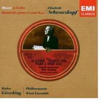 Mozart Lieder/Klavierquintett Kv 452 Elisabeth Schwarzkopf Walter Gieseking