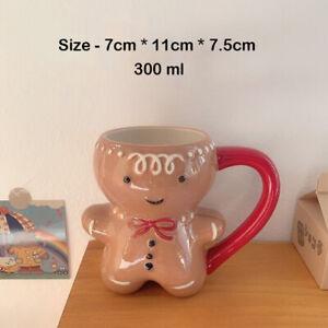 New Holiday Ceramic Threshold Target Gingerbread Man Mug Christmas Santa Gifts