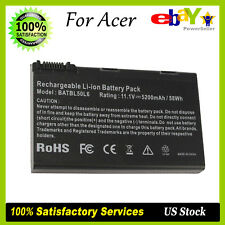 Laptop Battery for Acer Aspire 3100 5100 5610 5515 5610Z BATBL50L6 BATBL50L8
