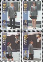 Belgien E1/1999-E4/1999 (kompl.Ausg.) postfrisch 1999 Eisenbahnmarke Privatausga