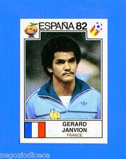 SPAGNA ESPANA '82 -Panini-Figurina-Sticker n. 277 - JANVION - FRANCIA -Rec