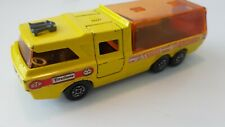 Matchbox Super Kings K-7 Racing Car Transporter color yellow 1972