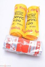 KODAK 120 ROLL FILM 400VC 2x + FUJICOLOR REALA 100 FILM UNOPENED EXP 2001 & 2010