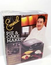 Nonstick Cake Pie Maker Emeril by T-Fal SM2205 Electric Black
