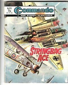 COMMANDO COMIC - No 935  STRINGBAG ACE