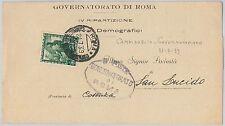 53300 - REGNO- Storia Postale:  BUSTA con annullo: CAMPIDOGLIO GOVERNATIVO Roma