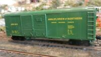 Bowser HO AD&N 40' Double Door Round Roof Boxcar Upgraded, Exc.